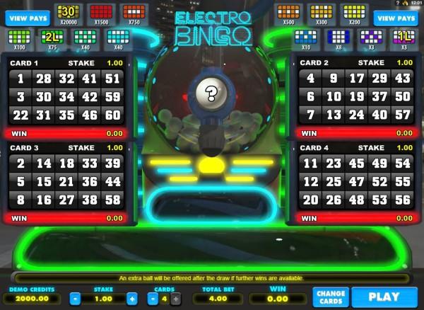 cloudbet bingo