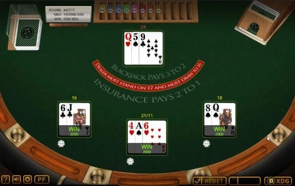 fortunejack blackjack